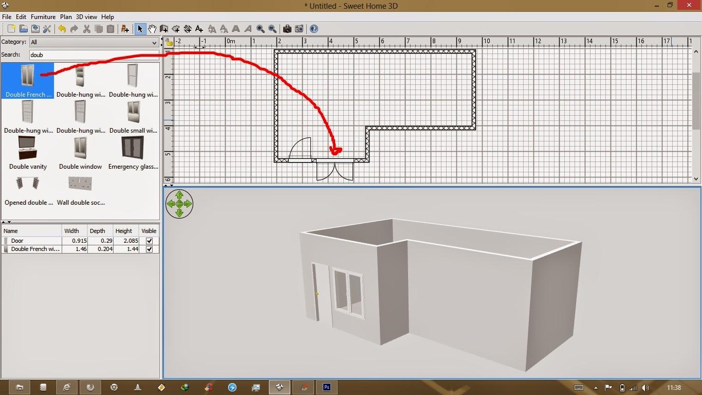 Cara Membuat Sketsa Rumah Dengan Komputer Sekitar Rumah